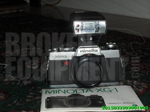 Minolta XG-1 Camera