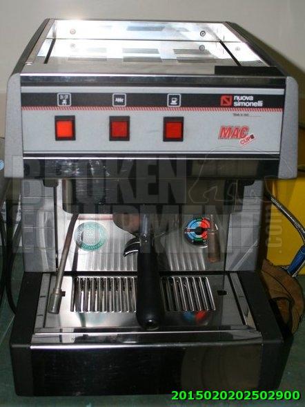 Broken Espresso Machine