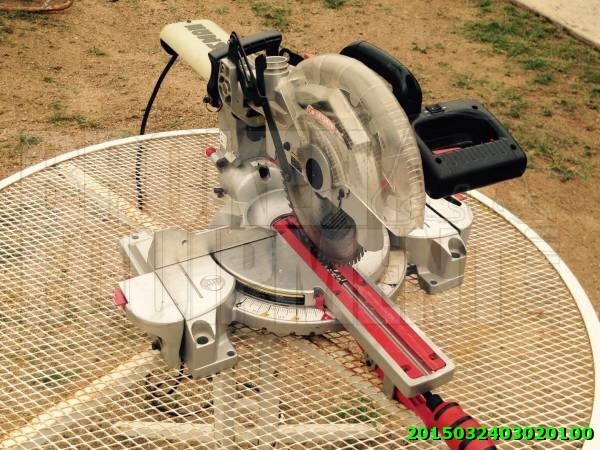 Craftsman radial miter saw
