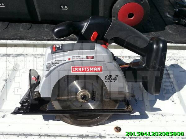 Craftsman cordless skill saw