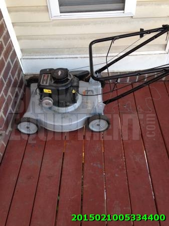 Briggs and Stratton lawn mower