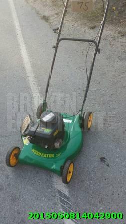 Weed eater Lawnmower