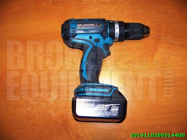 Broken Makita Drill