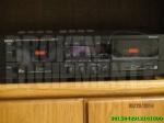 Denon stereo  daul tape  deck