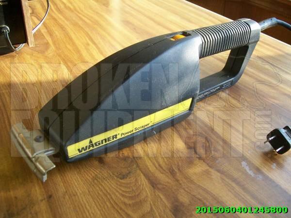 Wagner power scraper