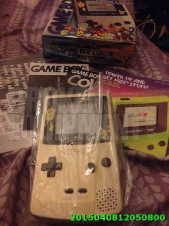 Pokemon Gameboy Console